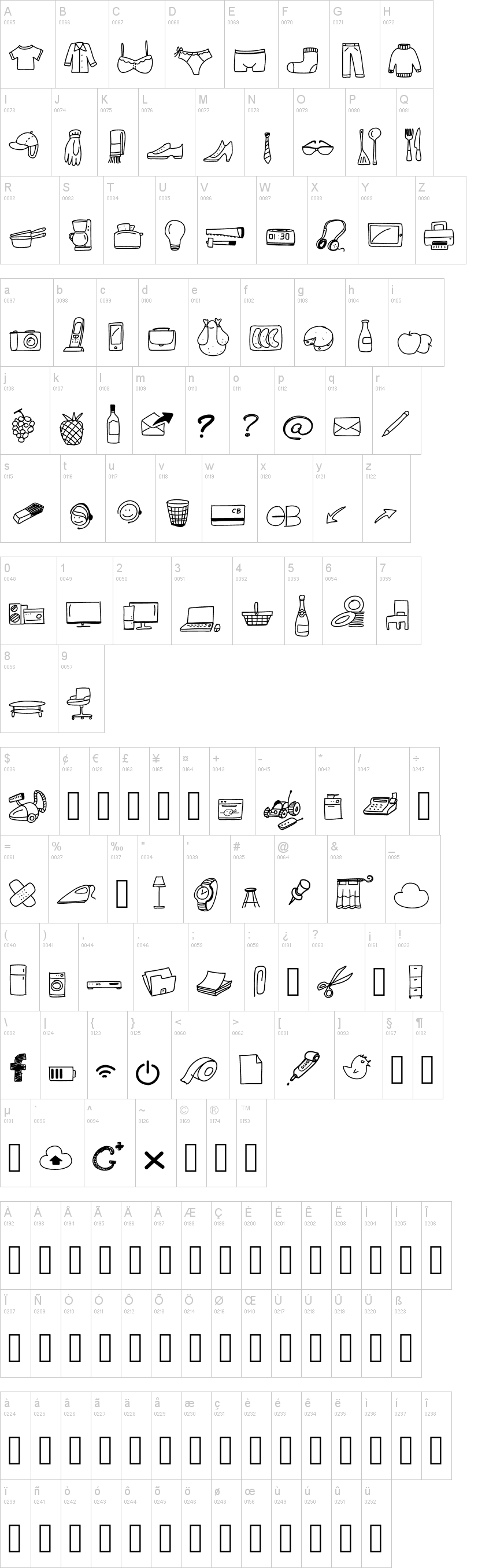 Peax Webdesign Free Icons