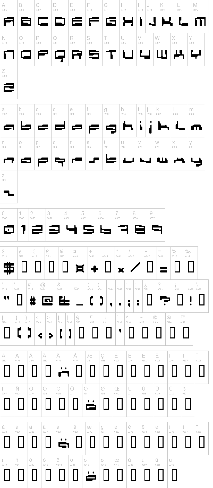Personal Computer Font | dafont com