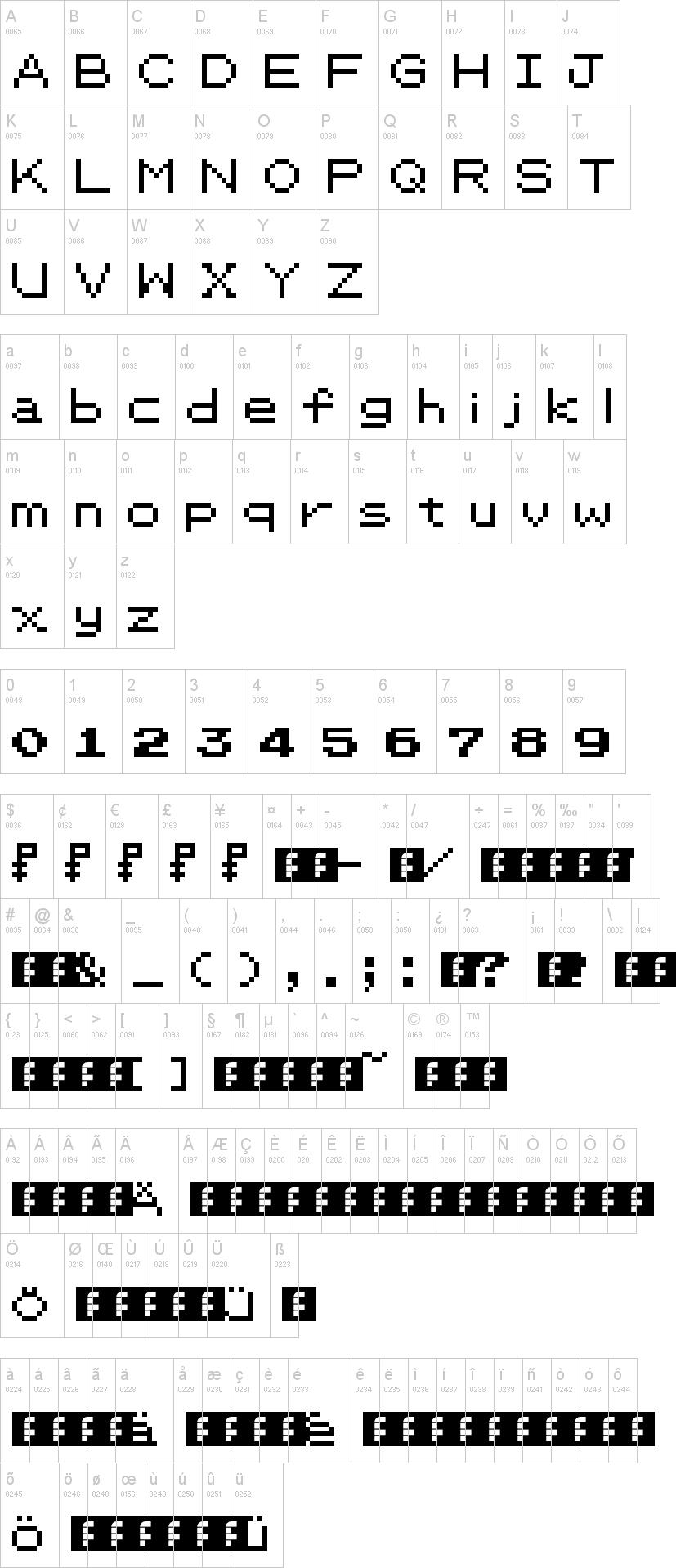 Pkmn Rbygsc Font Dafont Com
