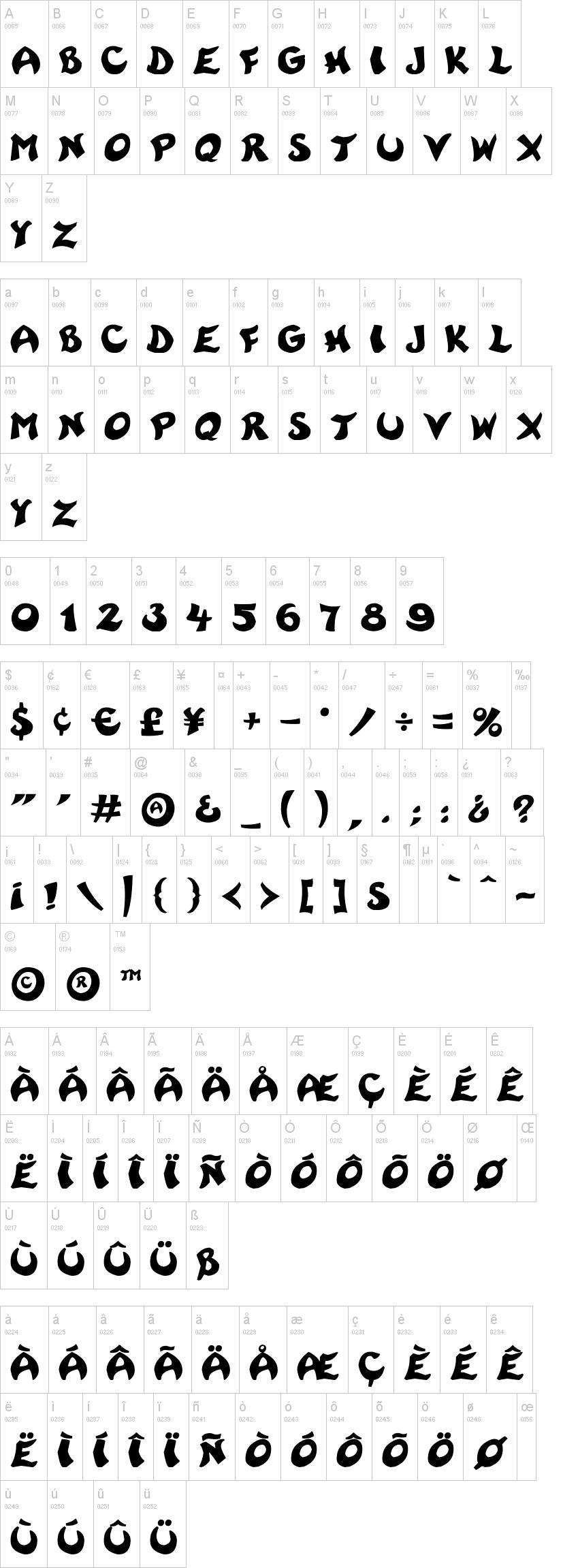 rayman adventures font