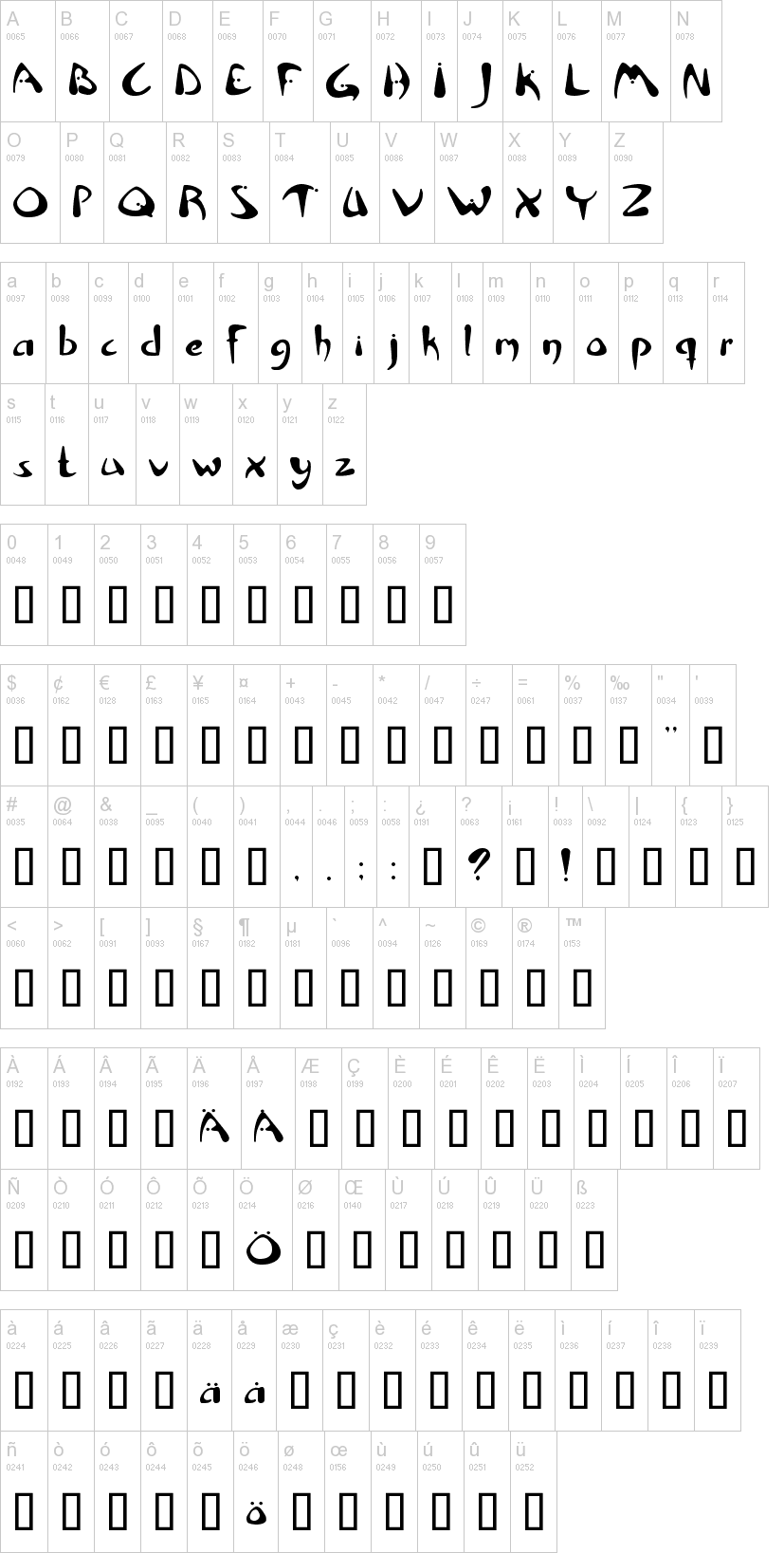 Rhino Font   dafont com