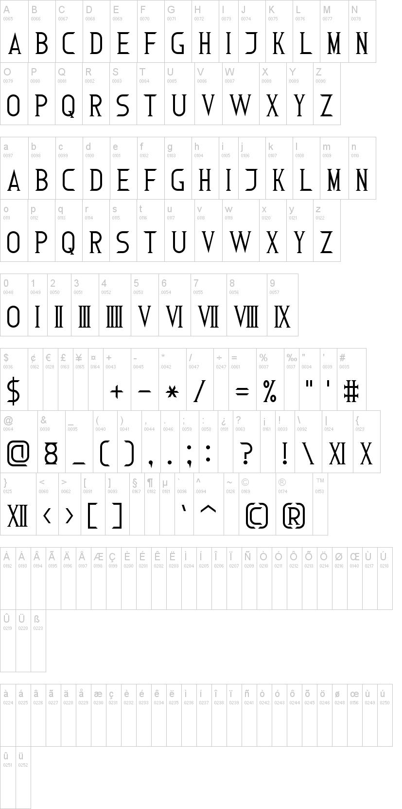 Roman Font 7 | dafont com