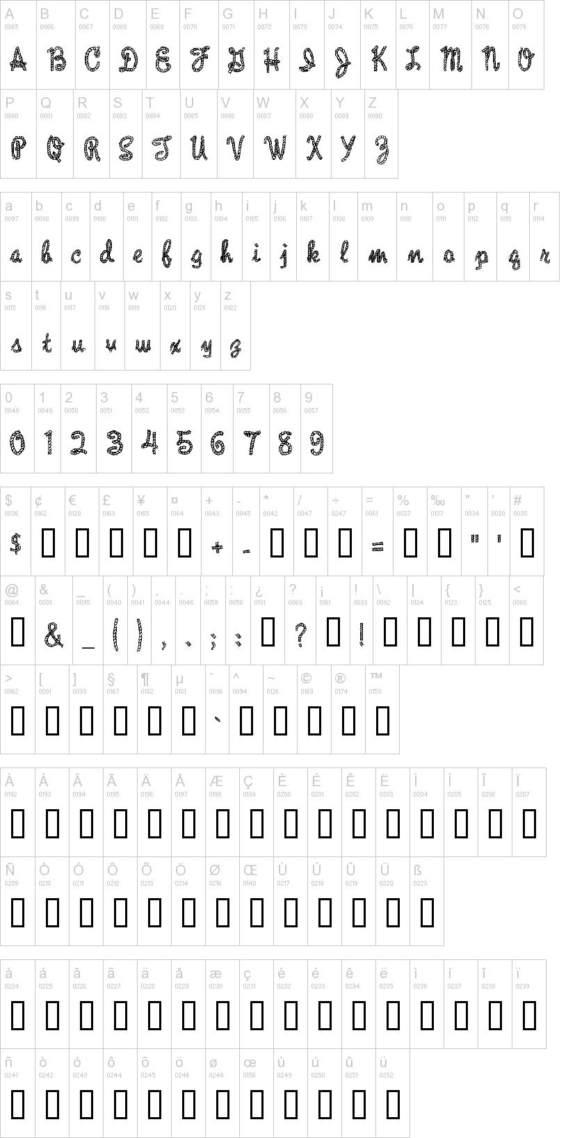 Rope MF Font | dafont com