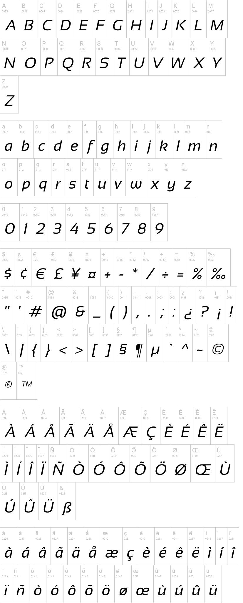 Sansation light font download free.