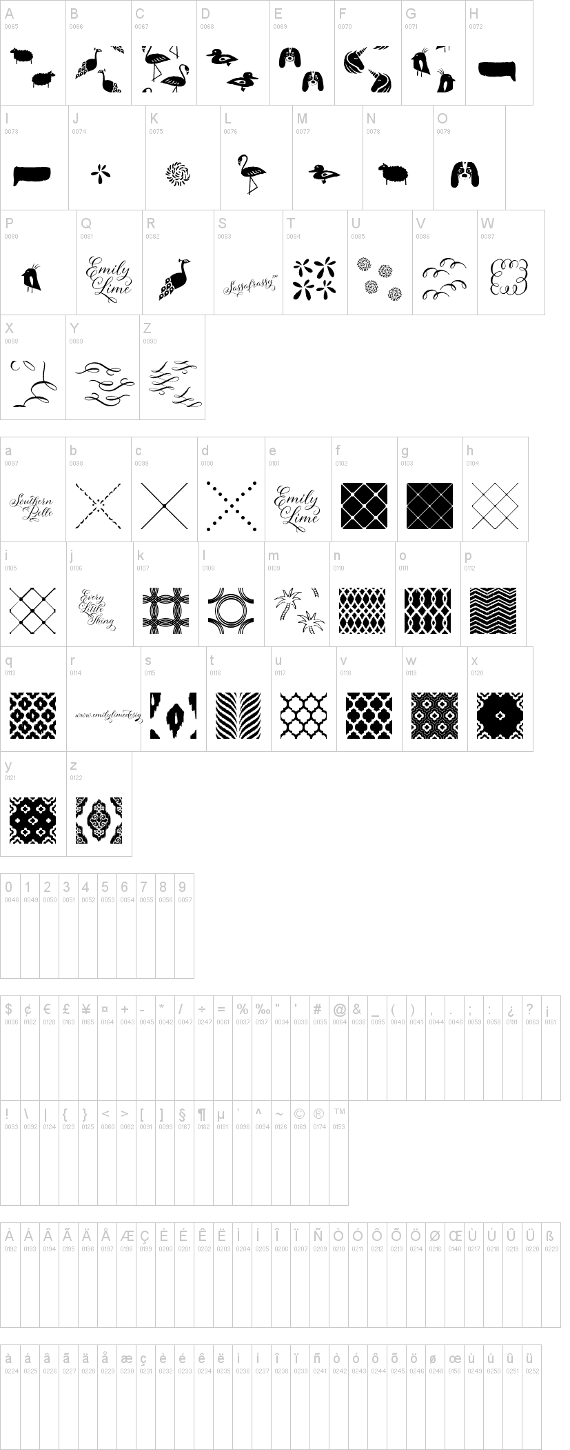 Sassafrassy Patterns