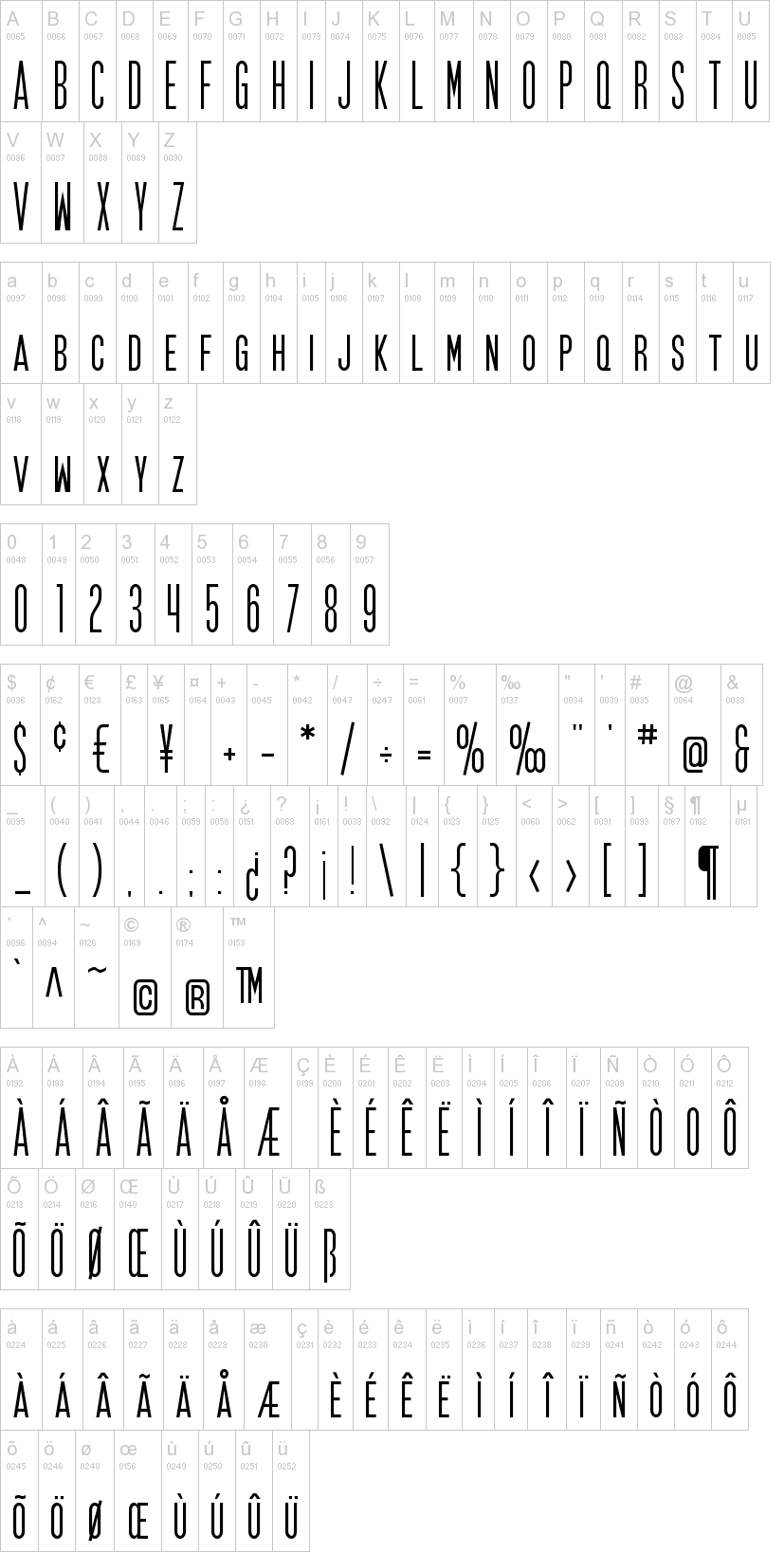 Fonts 1 - 10 of 22