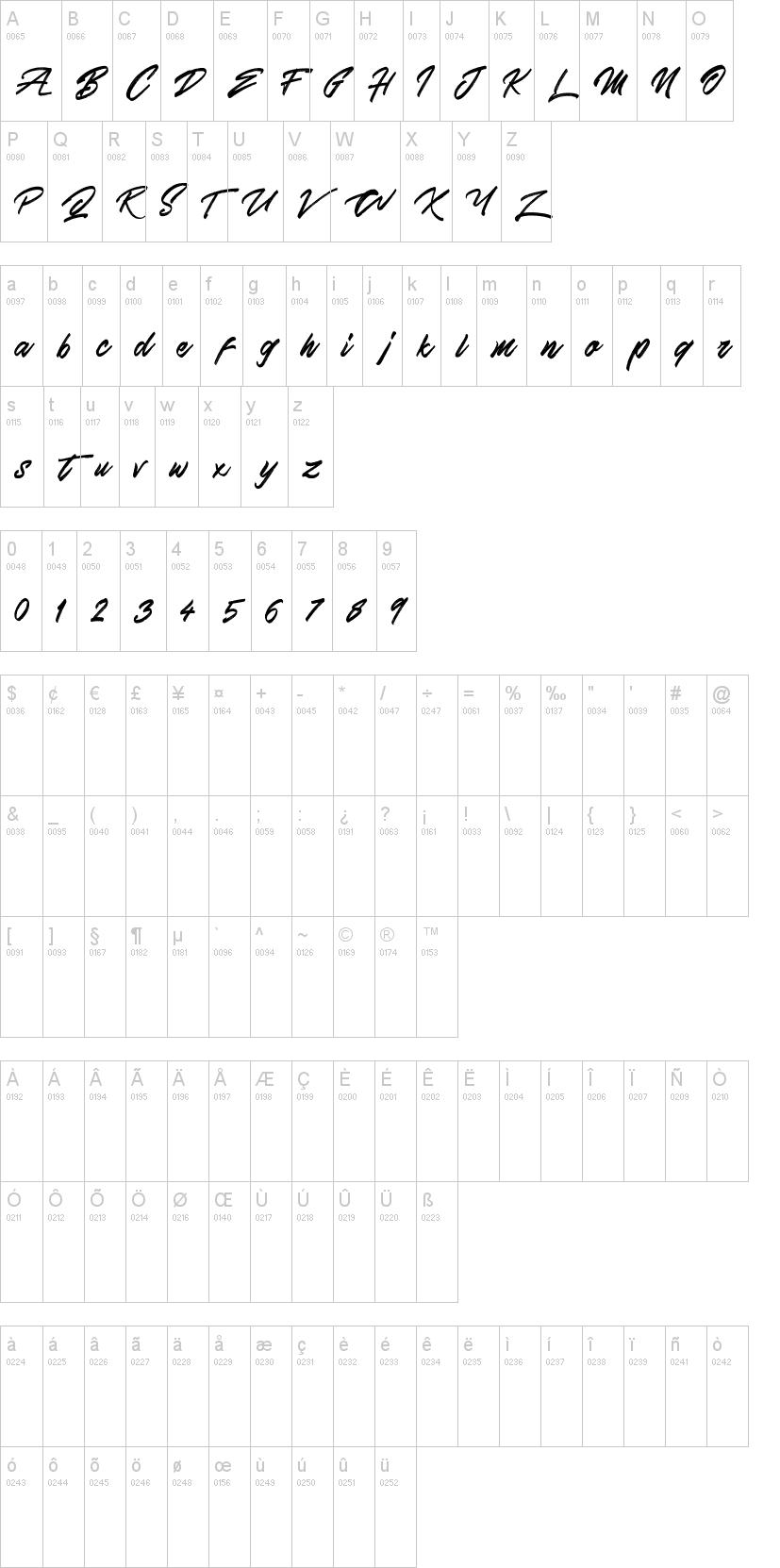 Skywalker Font