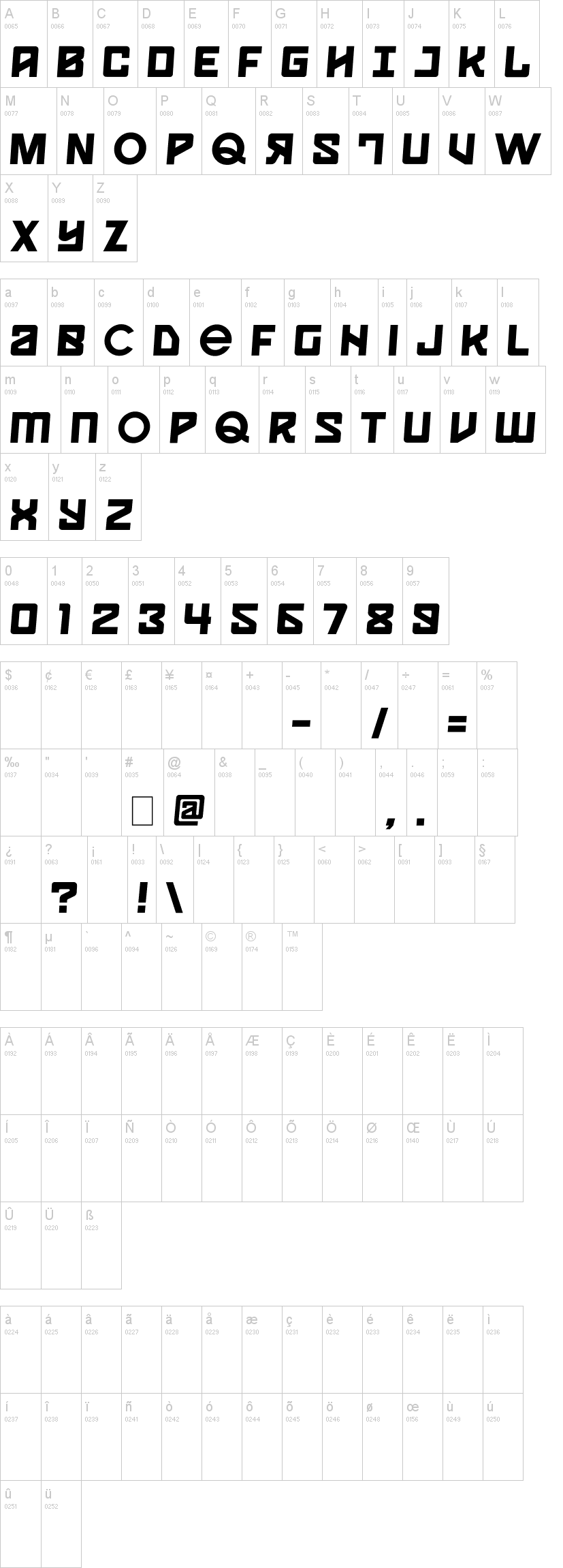 spaceport one font