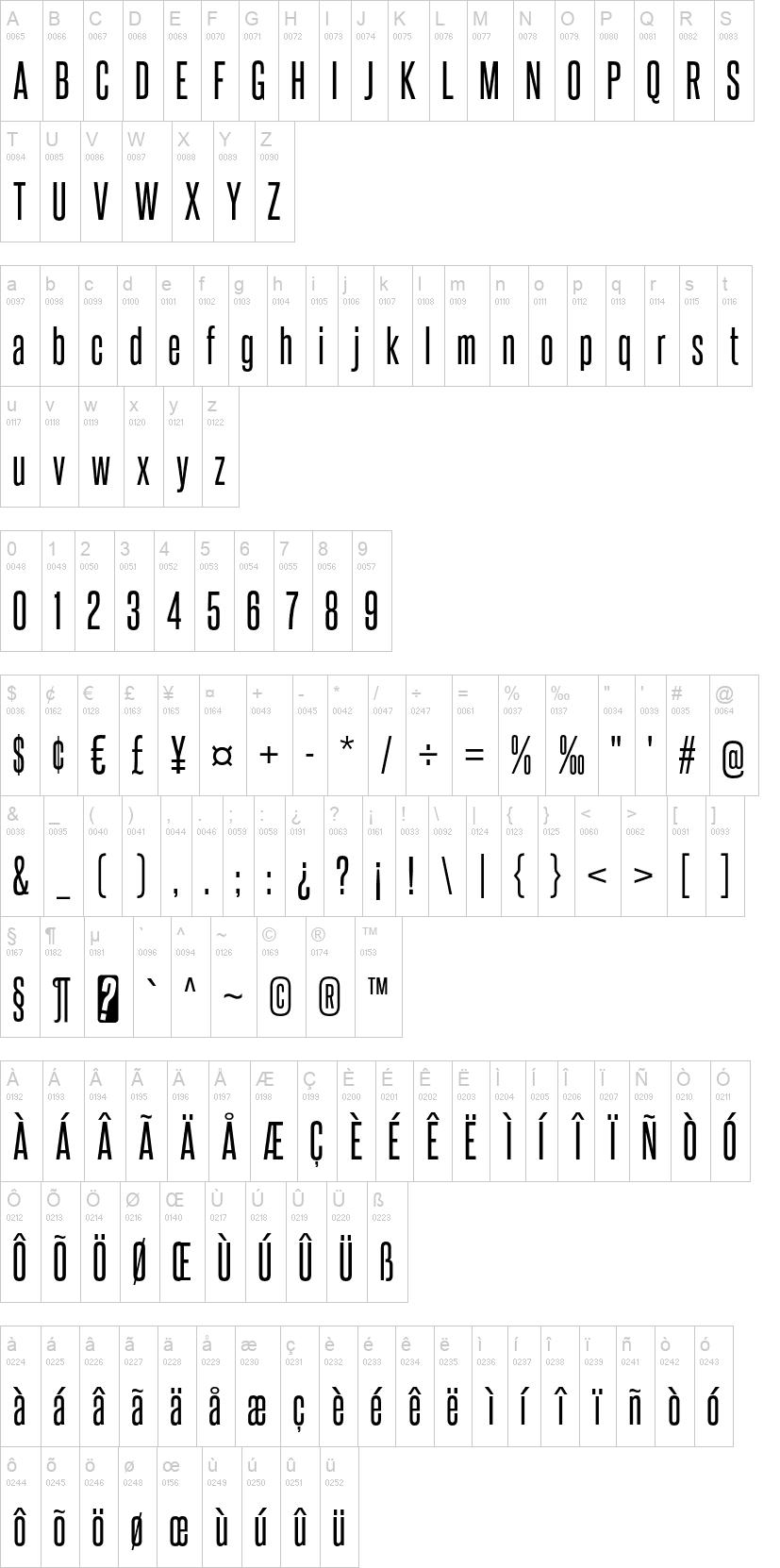 Steelfish Font | dafont com