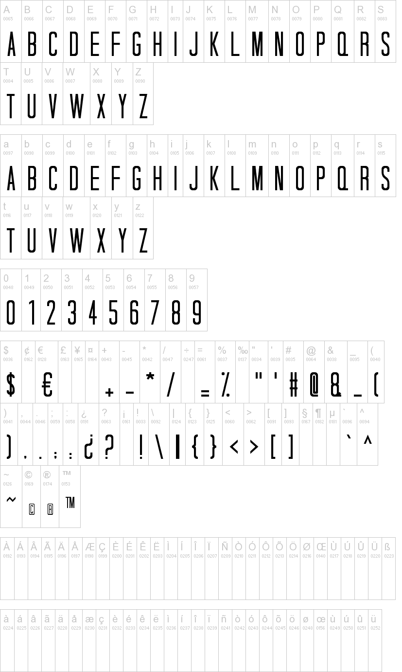 Tall Dark And Handsome Font | dafont com