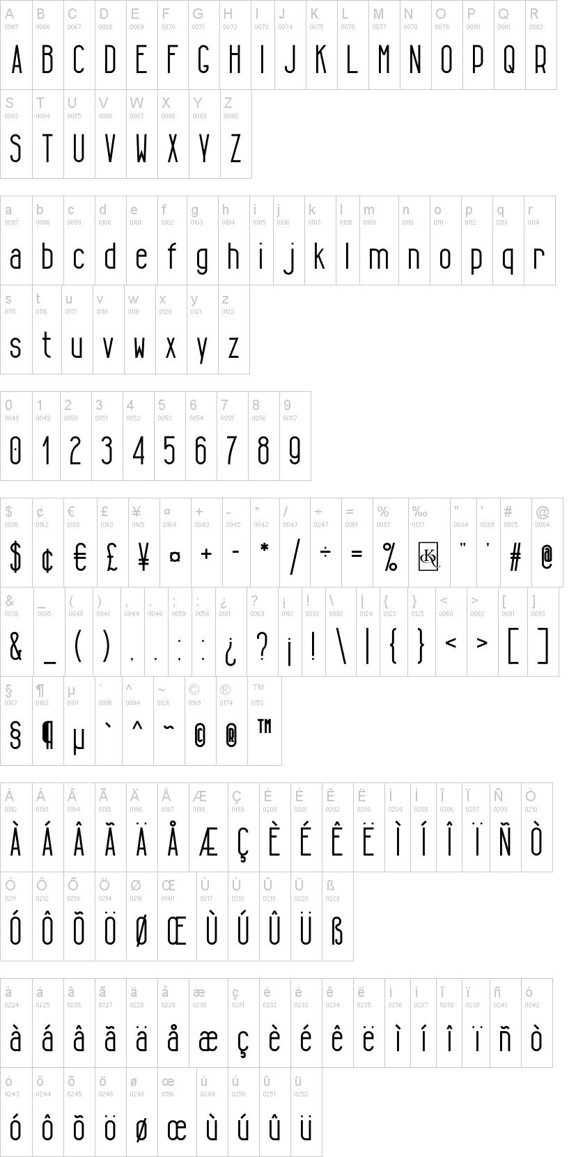 Tall & Lean Font | dafont com