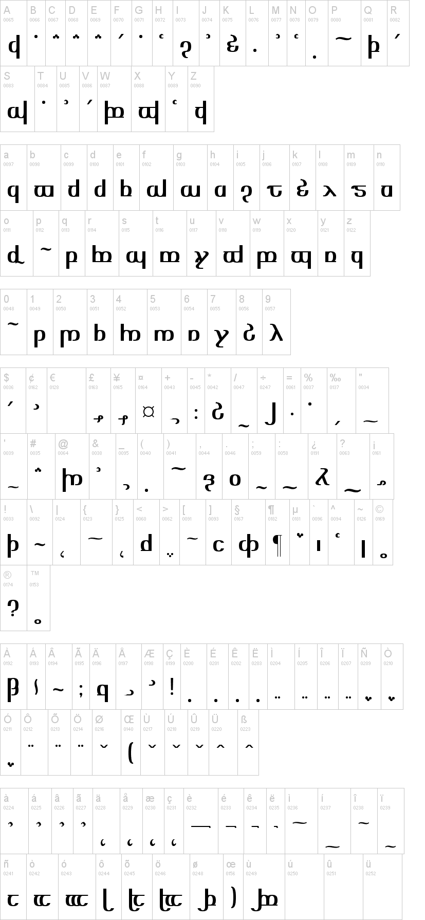 Tengwar Optime Diagon