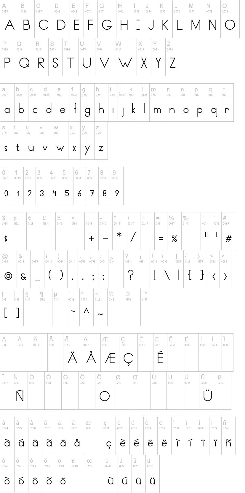 Thin Lines and Curves Font | dafont com