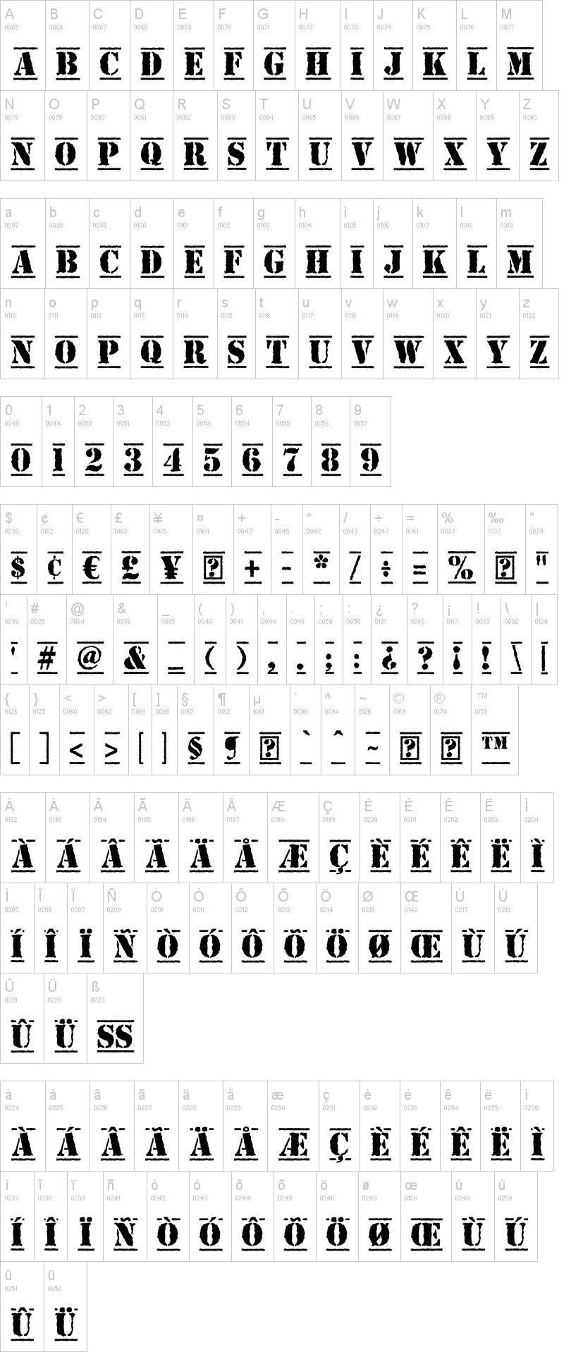 top secret font