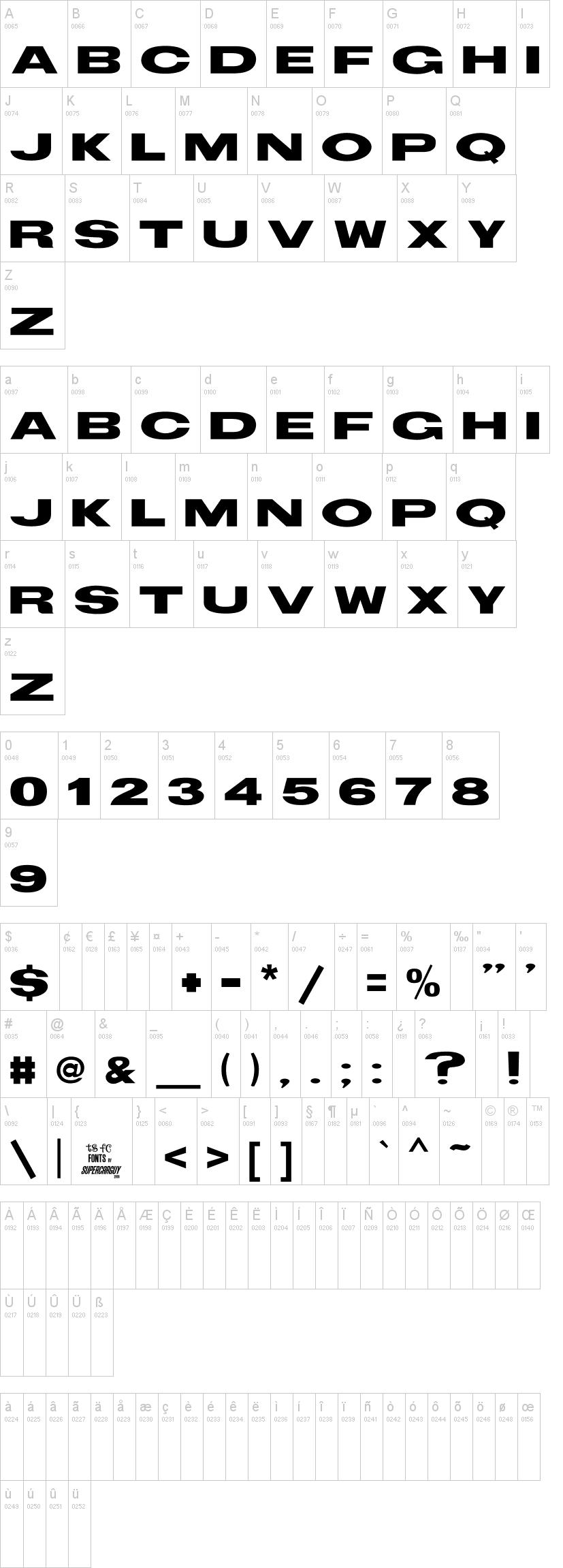 TS Block Font | dafont com