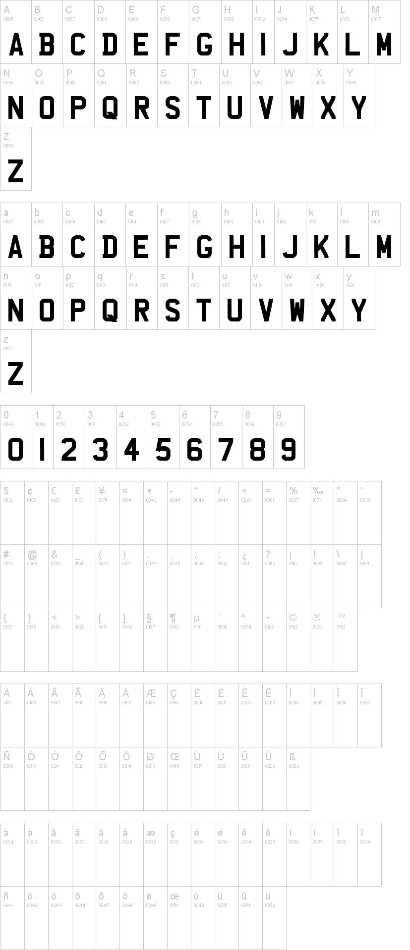 UK Number Plate Font   dafont com