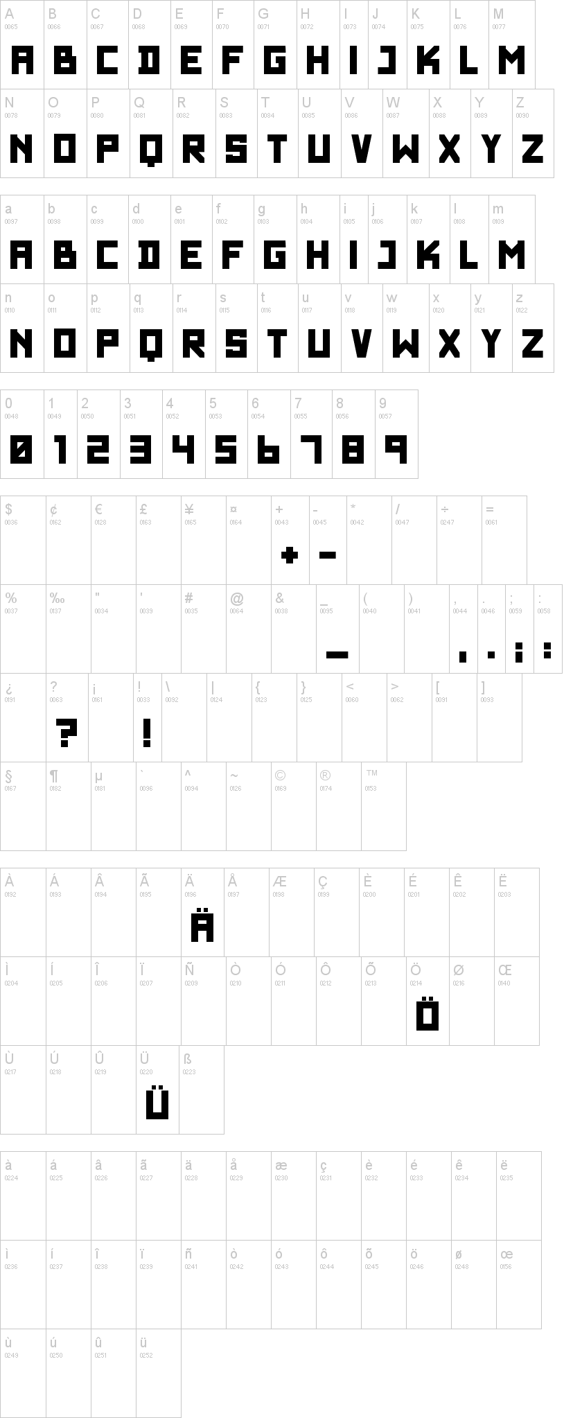 Wadim Giant Font | dafont com
