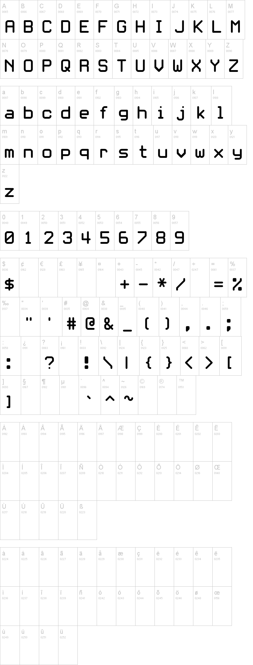 White Rabbit Font Dafont