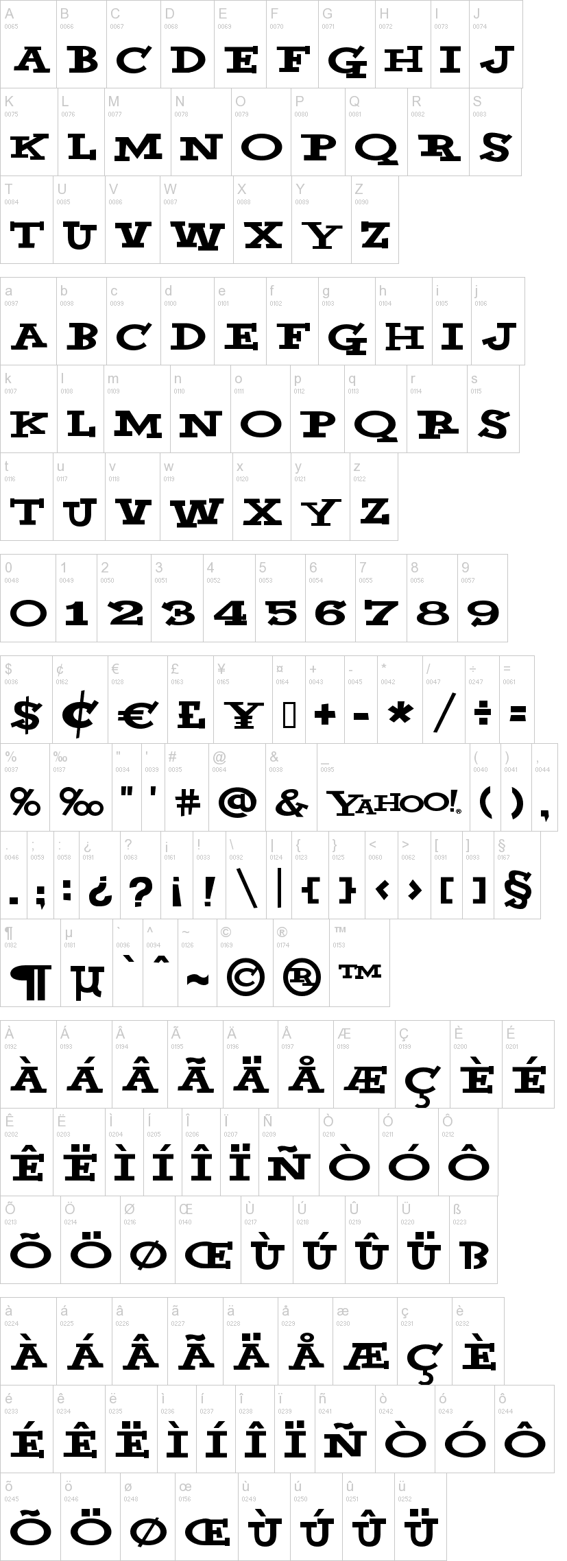 Yahoo Font Dafont Com