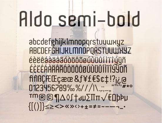 Tipografías diversas