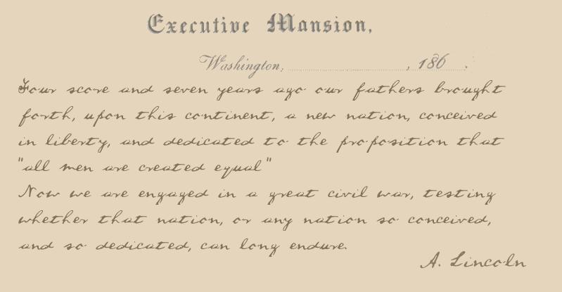 A Lincoln Font | dafont.com