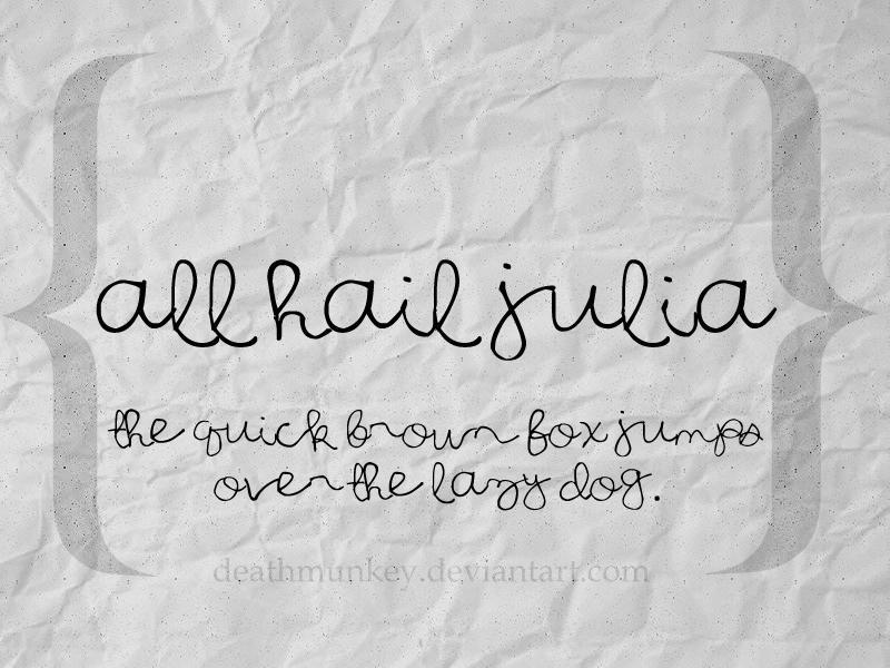 [Resim: all_hail_julia.jpg]