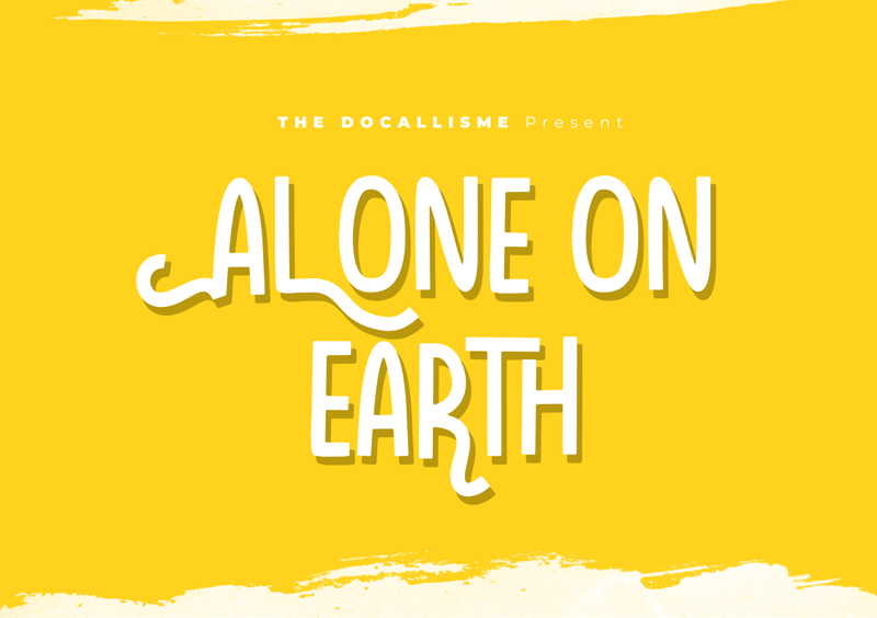 Alone On Earth Font Dafont Com