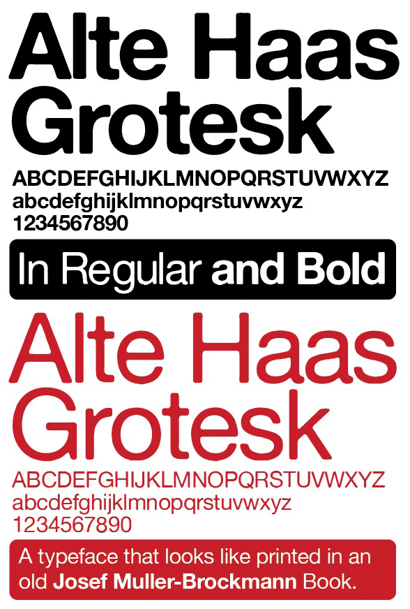 alte haas grotesk regular
