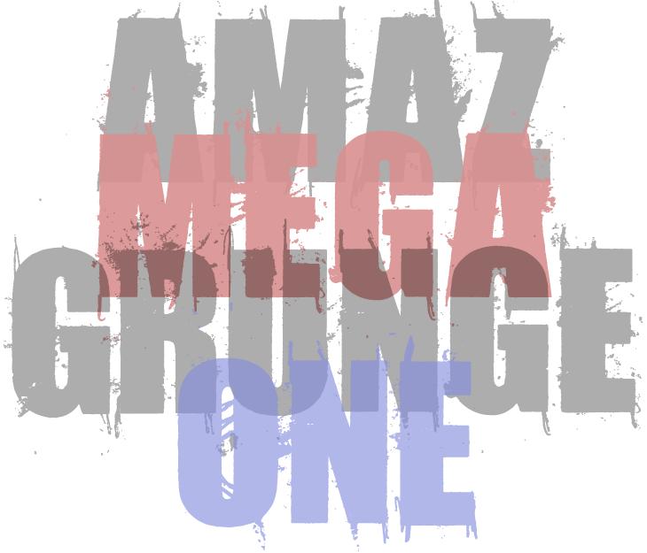 Amaz Mega Grunge