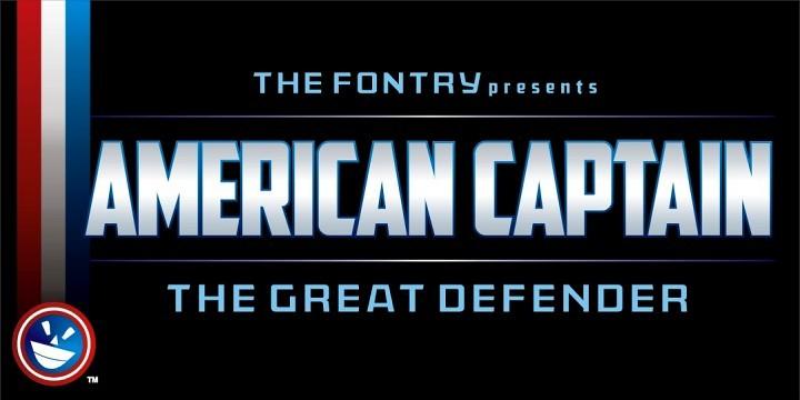Font - American Captain