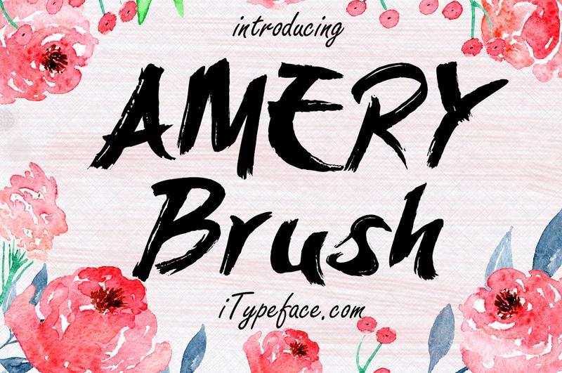 Amery Brush Font | dafont.com