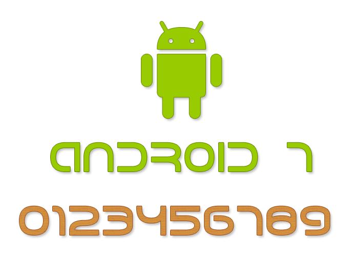 Download Android 7 Font | dafont.com