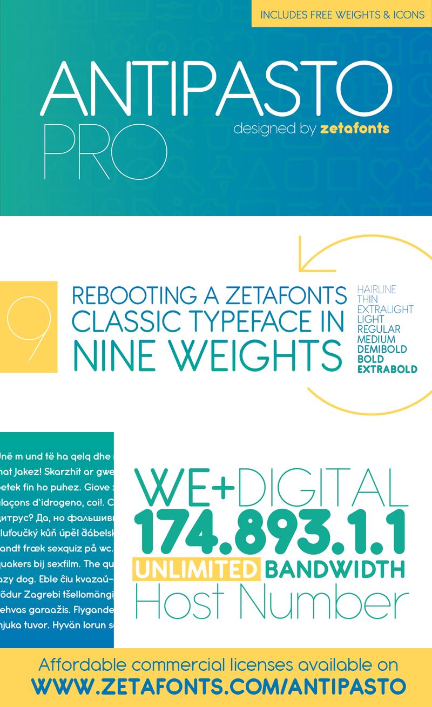 Antipasto dafontcom for Interior design font selection