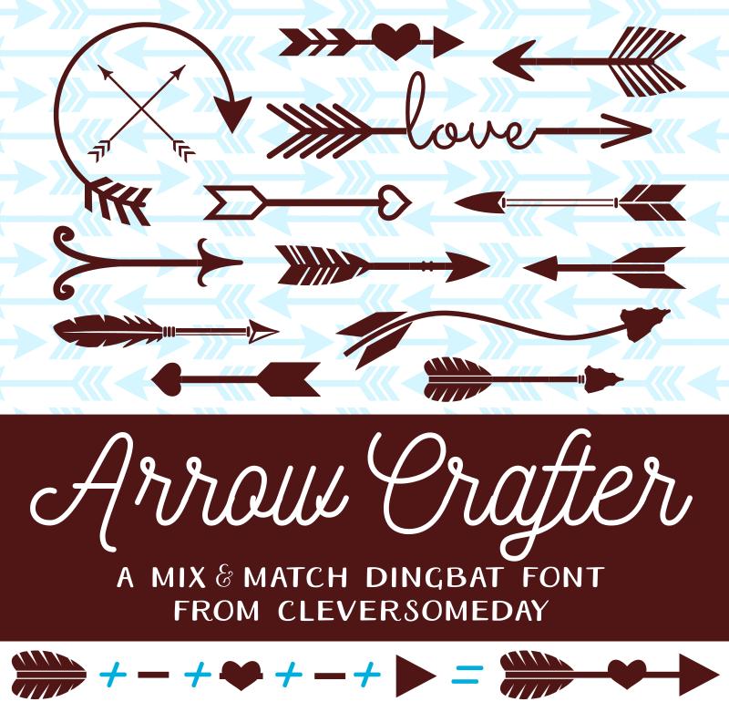 Arrow Crafter Font | dafont com