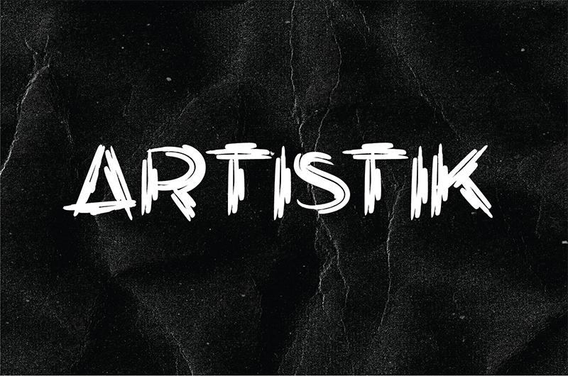 GRATUIT FONT TÉLÉCHARGER ARTISTIK