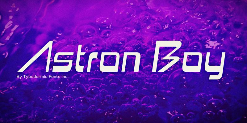 Astron boy font family · 1001 fonts.