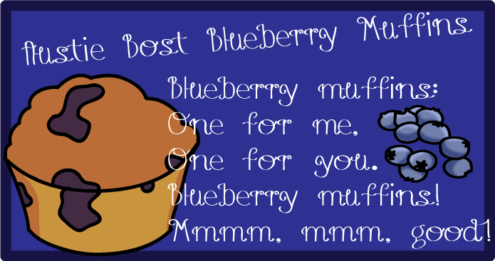 [Curly] UVF Blueberry Muffins Việt hóa