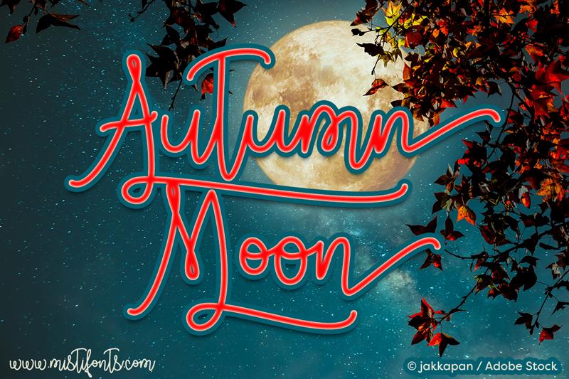 Autumn Moon Font | dafont com