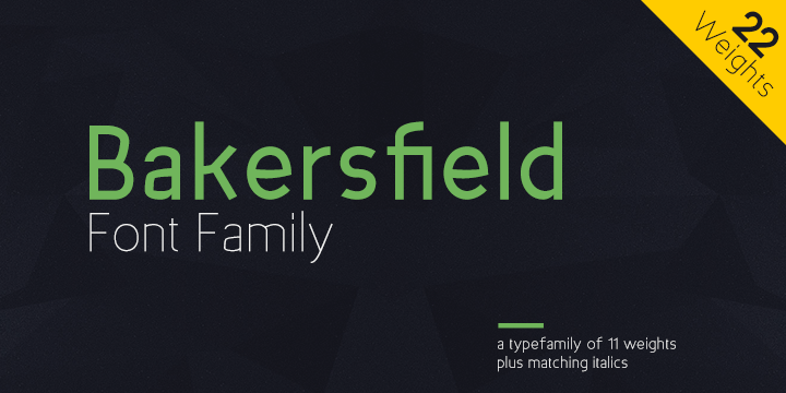 Bakersfield Font Download
