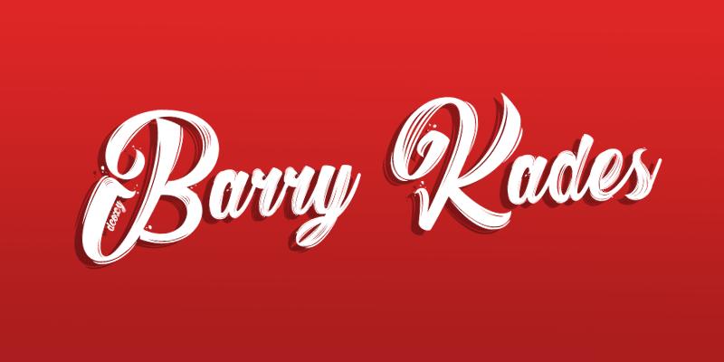 Descargar fuente Barry Kades