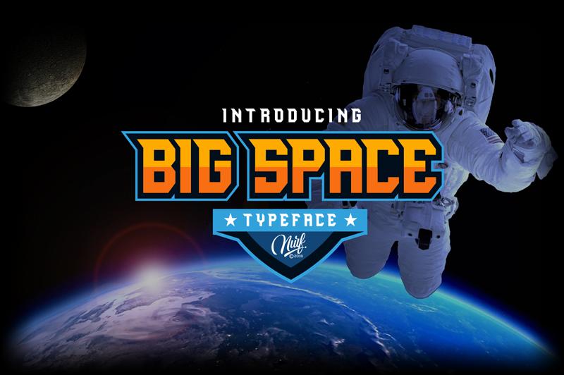 Big Space Font | dafont com