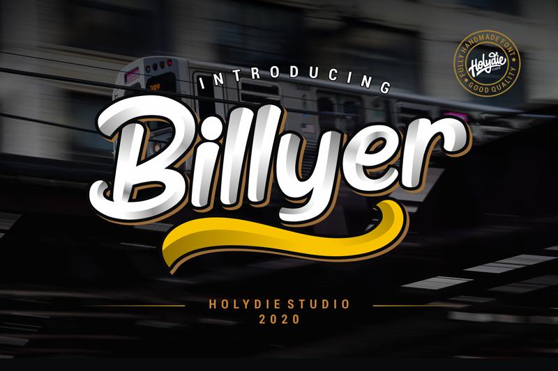 Billyer Font