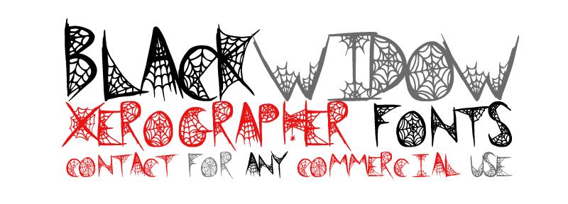Black Widow Font | dafont com