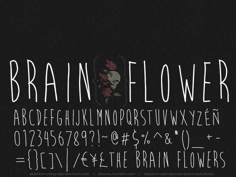 Illustration © Denise Bentulan. Brain Flower