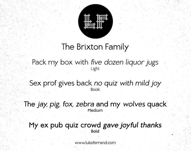 Brixton Font   dafont com