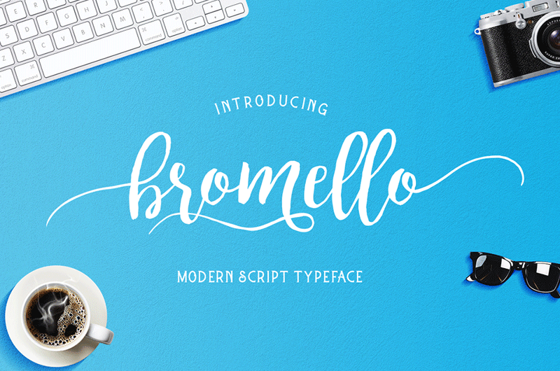 Bromello Custom Preview Fonts