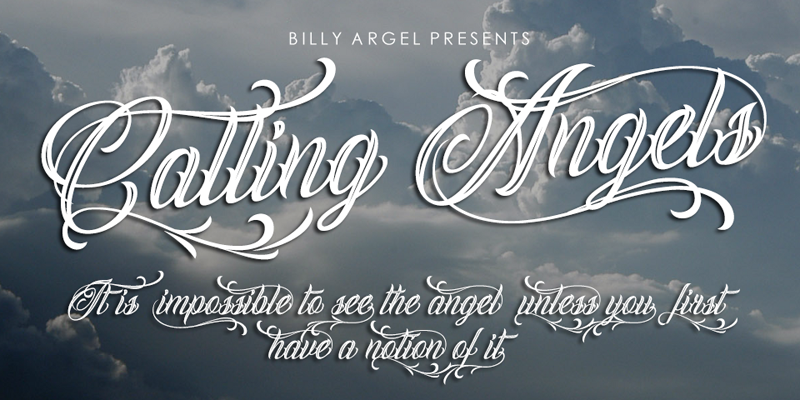 Illustration C Billy Argel Calling Angels