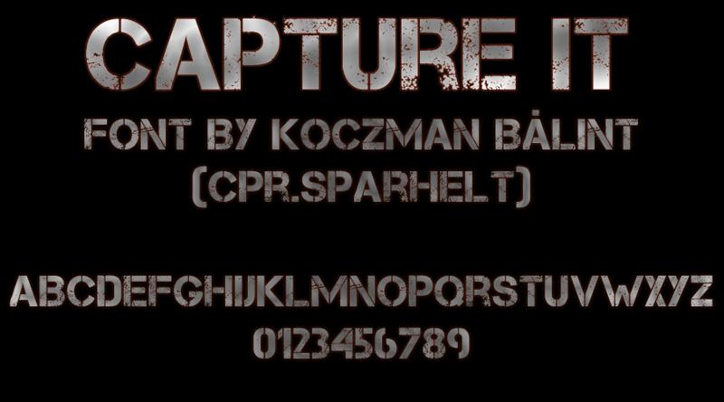 Capture It Font Dafont Com