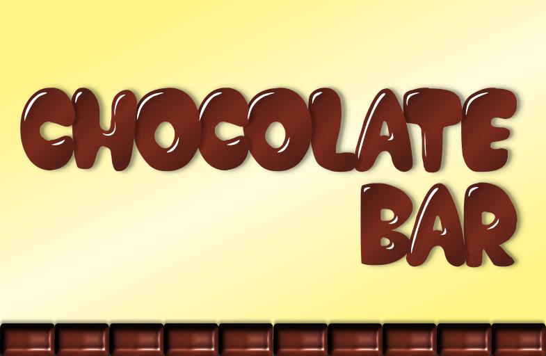 Chocolate Bar Font