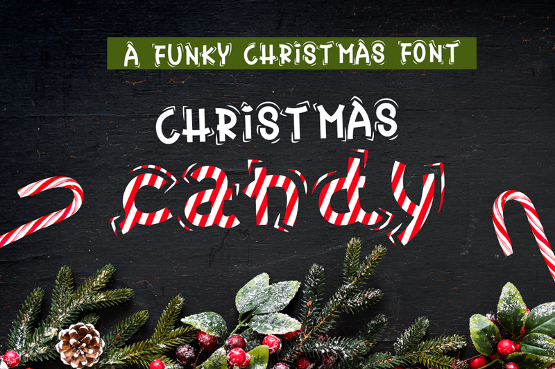 Christmas Candy Font | dafont.com